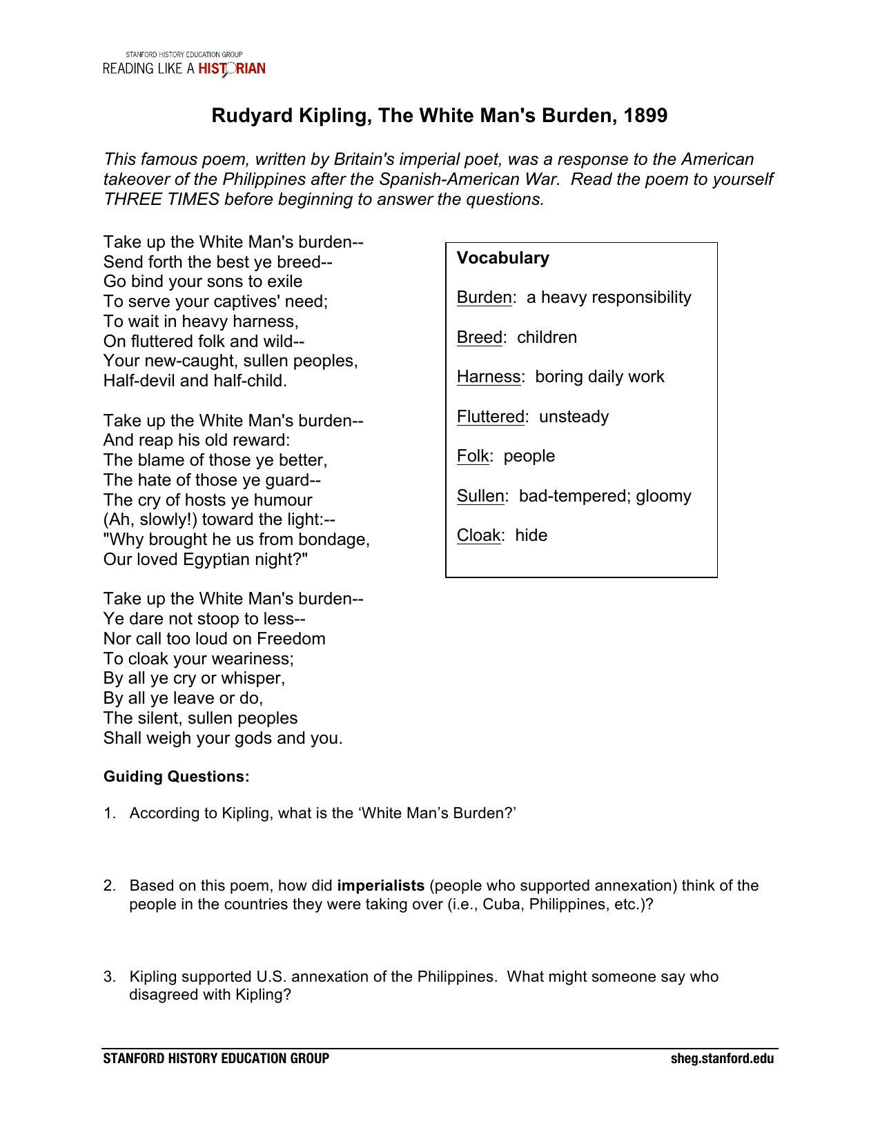Cartoonysis Worksheet Answers Key