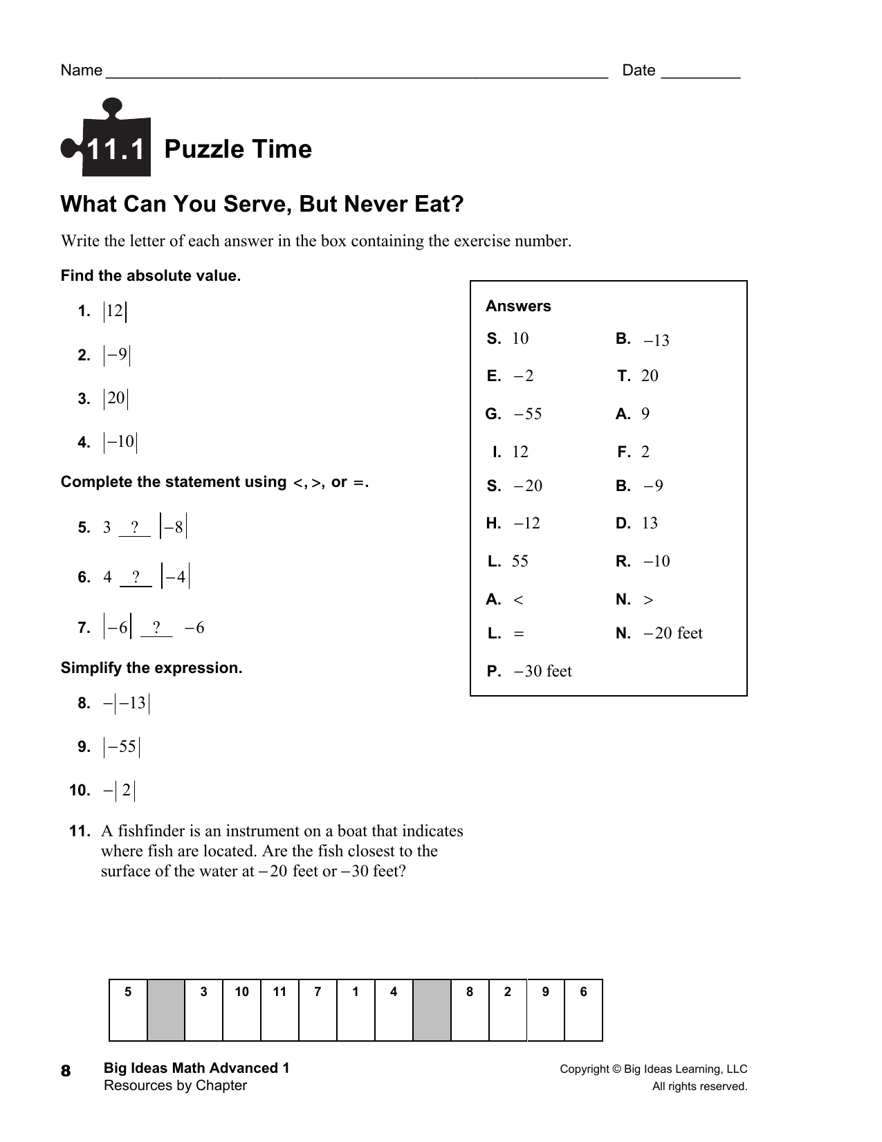 Instance Of Brain Teaser Riddle Time Answer Key