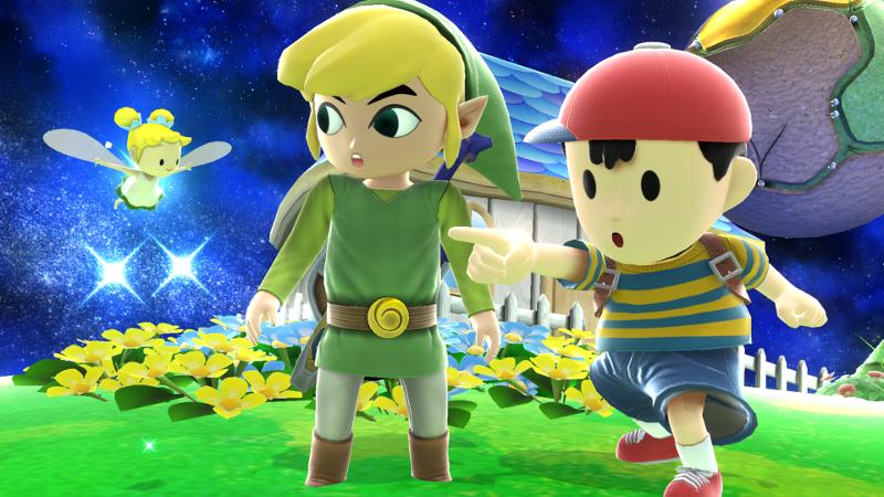Super Smash Bros For Wii U Link No5 Amiibo Nintendo