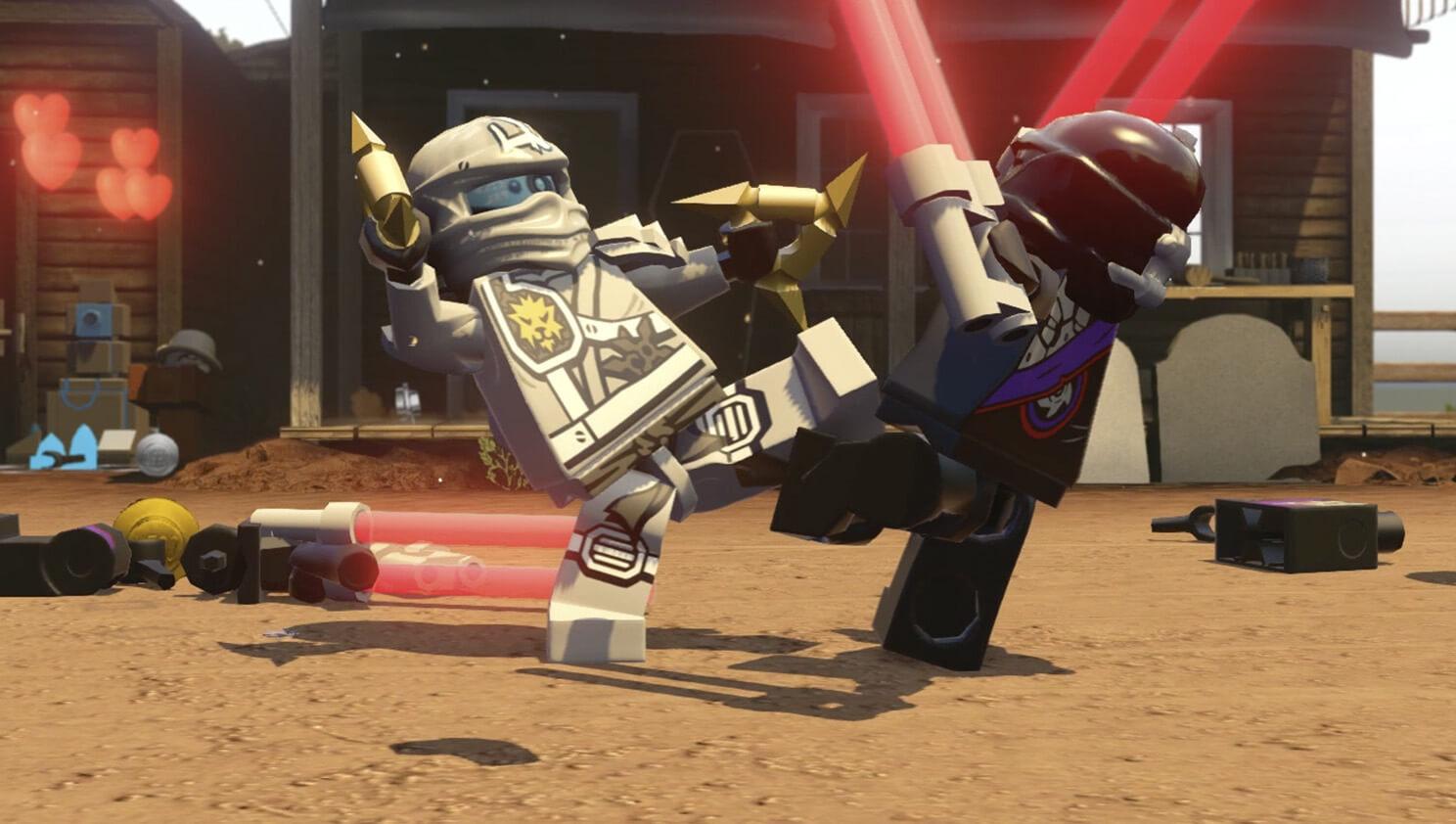 Lego Dimensions Ninjago Zane Fun Pack Games Zavvi Com