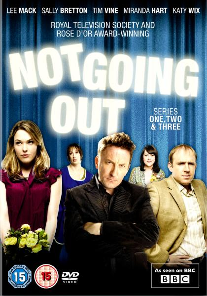 Lee Mack Not Going Out Series 1 3 DVD Zavvi