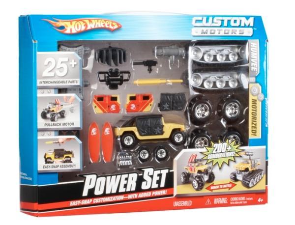 Hot Wheels Custom Motors Set Asst Toys