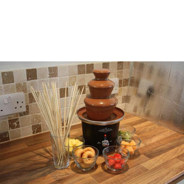 Gourmet Gadgetry Mini Chocolate Fountain IWOOT