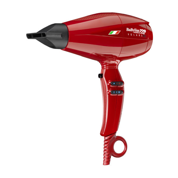 BaByliss PRO Volare V2 Red Compact Dryer Free Shipping