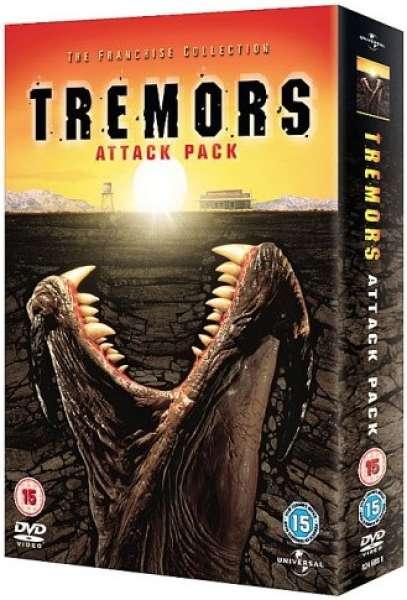 Tremors Attack Pack 1 4 DVD Zavvi