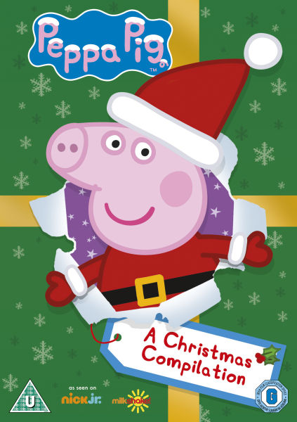 Peppa Pig A Christmas Compilation DVD Zavvi