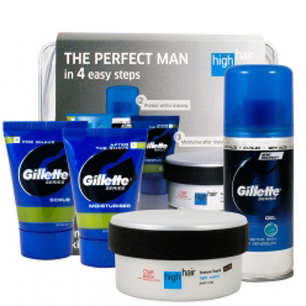 Wella High Hair Gillette Travel Kit 4 Products Free