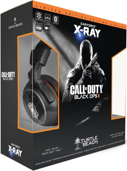 Turtle Beach Call Of Duty Black Ops 2 Ear Force X RAY Headset Games Accessories Zavvi