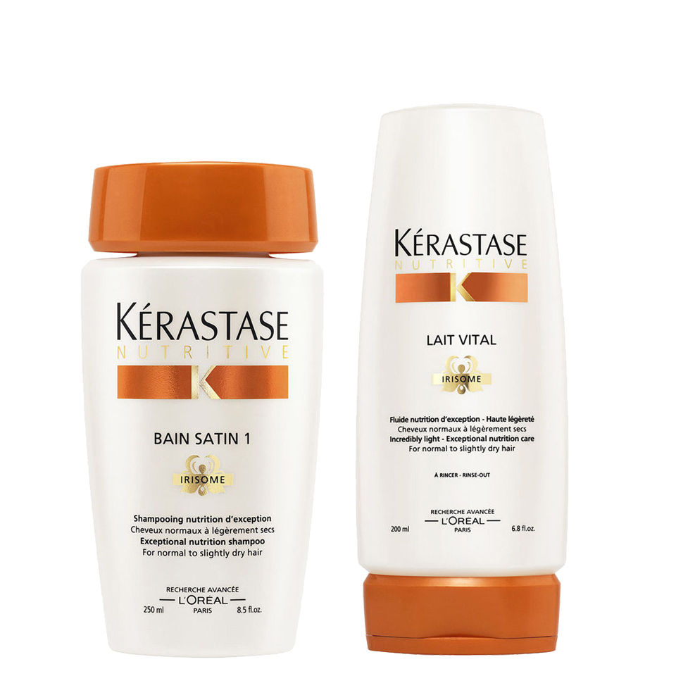 Krastase Nourishing Shampoo And Conditioner For Normal To