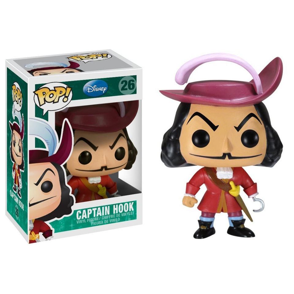 Peter Pan Captain Hook Disney Pop Vinyl Figure IWOOT