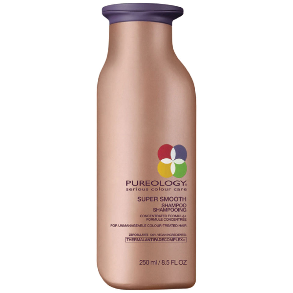 Pureology Supersmooth Shampoo 250ml Free Shipping