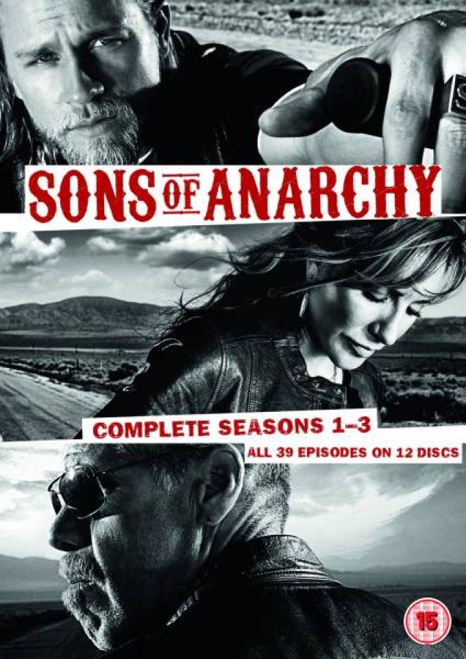 Sons Of Anarchy Seasons 1 3 Dvd Zavvi
