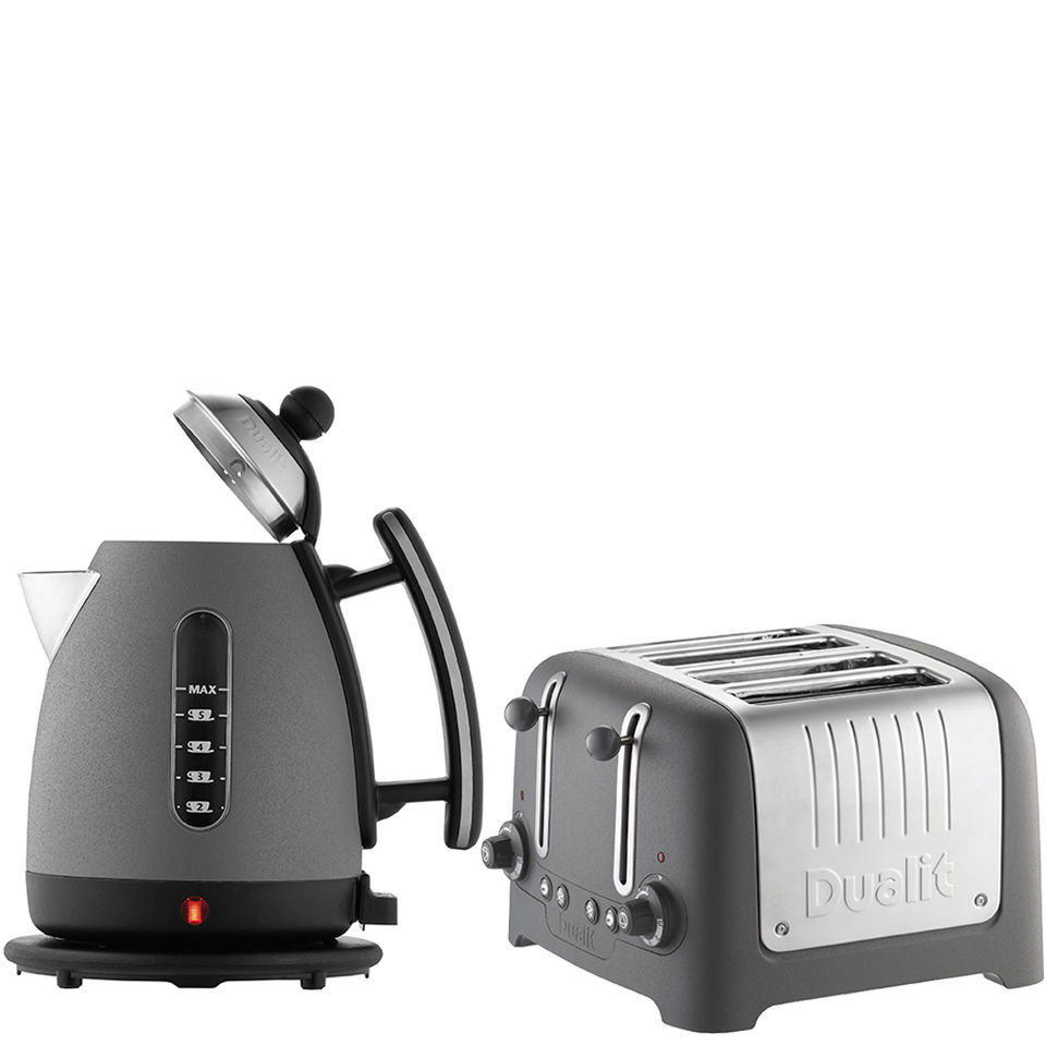 Dualit Jug Kettle And 4 Slot Toaster Bundle Granite IWOOT