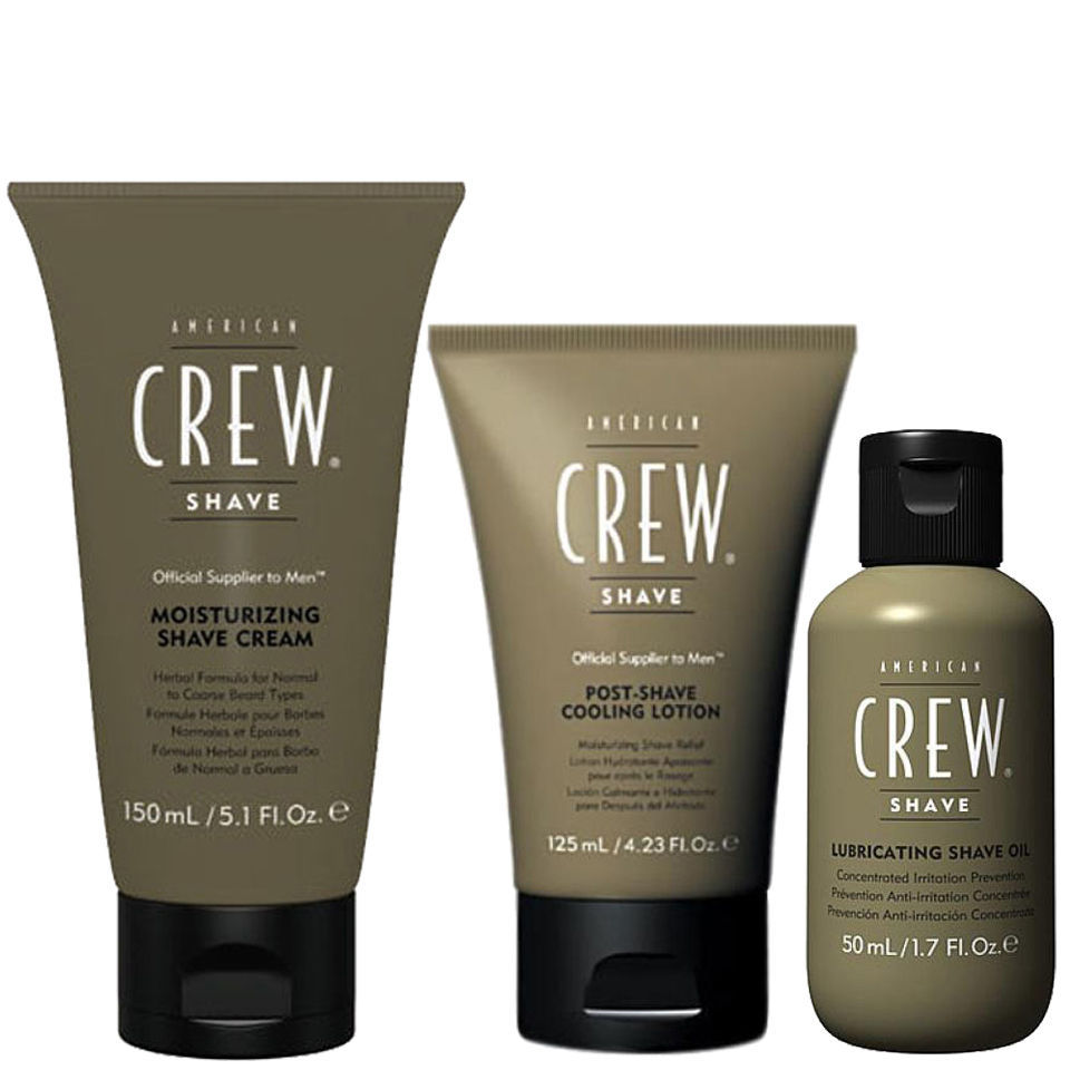 American Crew Shave Away Trio Lubricating Shave Oil