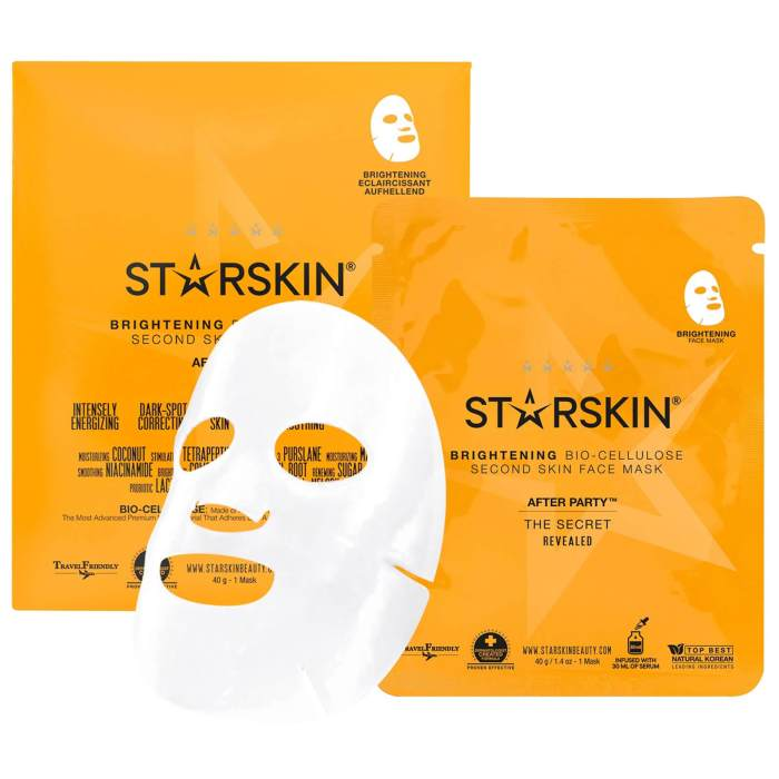 Image result for After Party™ Brightening Coconut Bio-Cellulose Second Skin Mask