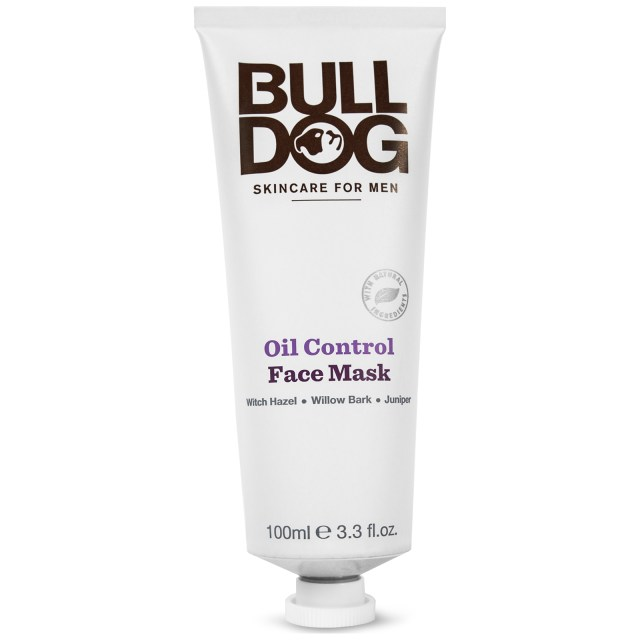 bulldog oil control face mask 100ml - free delivery