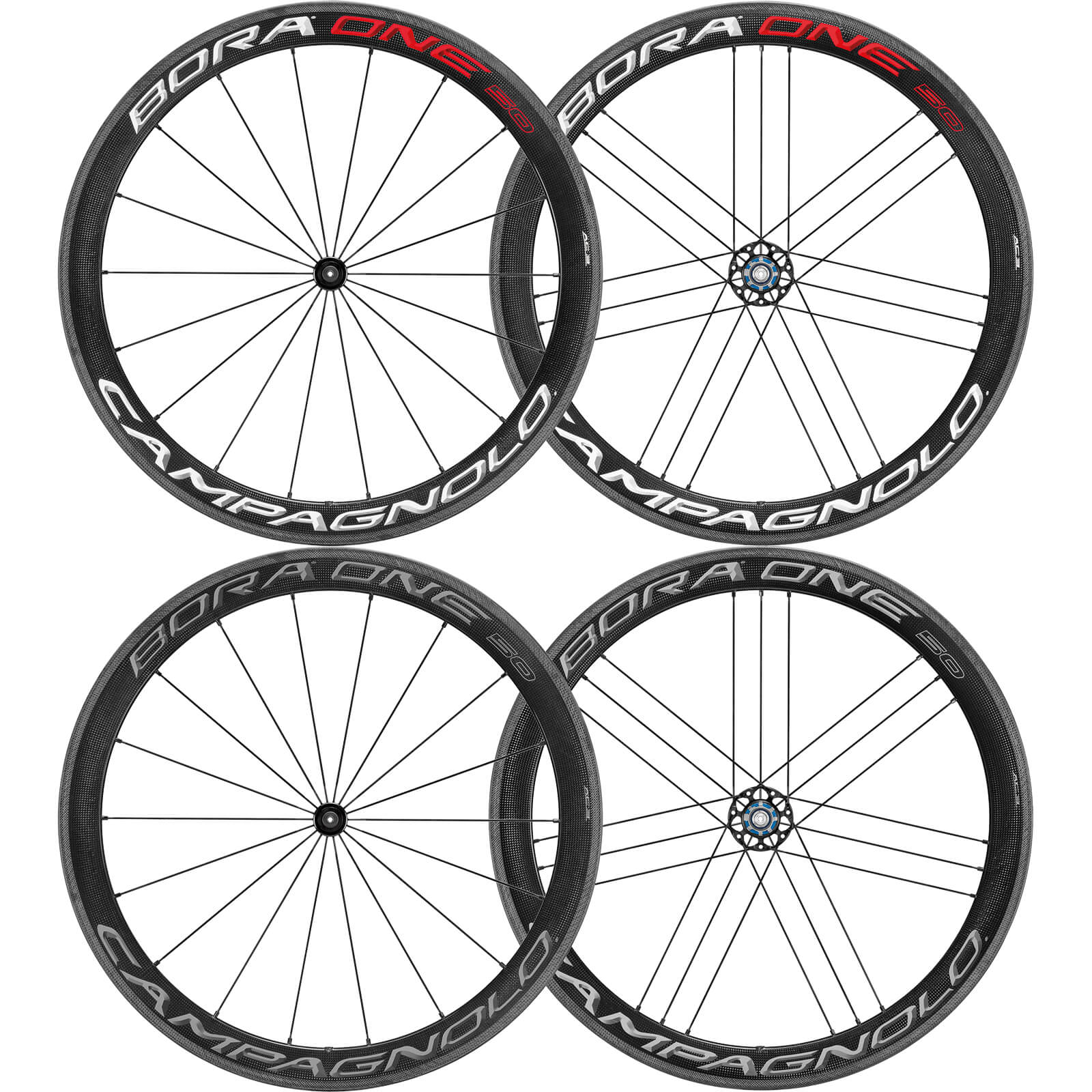 CAMPAGNOLO BORA ONE(ボーラワン) 50 クリンチャー ホイールセット 2018