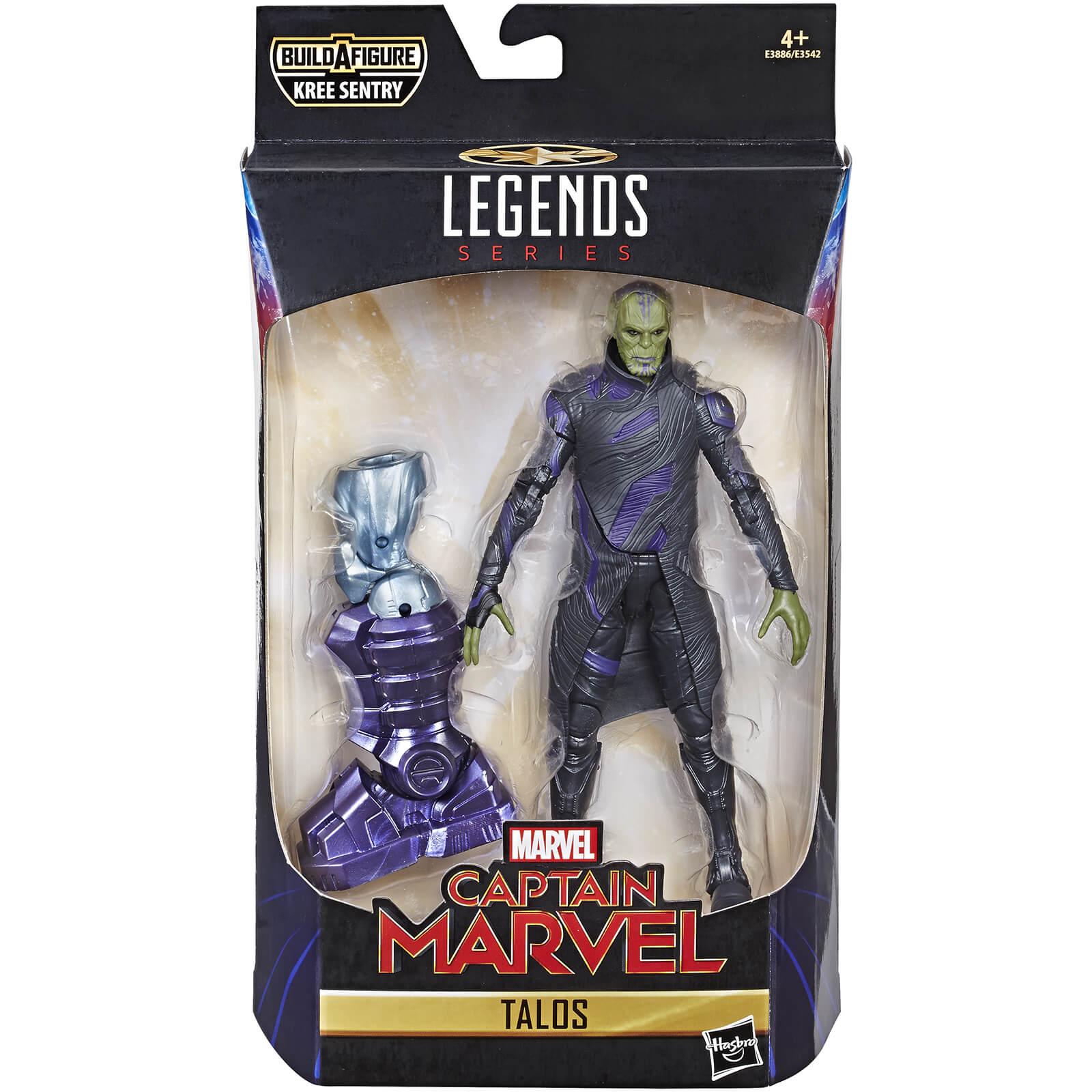 hasbro marvel legends series captain marvel 6-inch talos skrull figure
