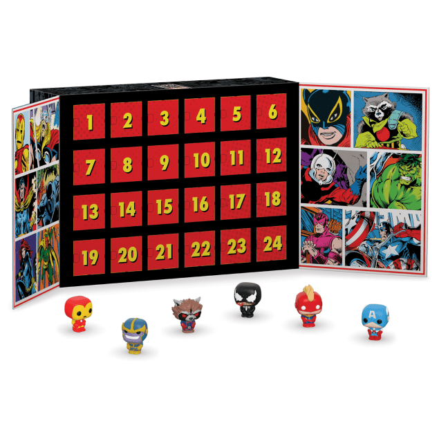Marvel - Calendario dell'Avvento Mini Funko Pop!