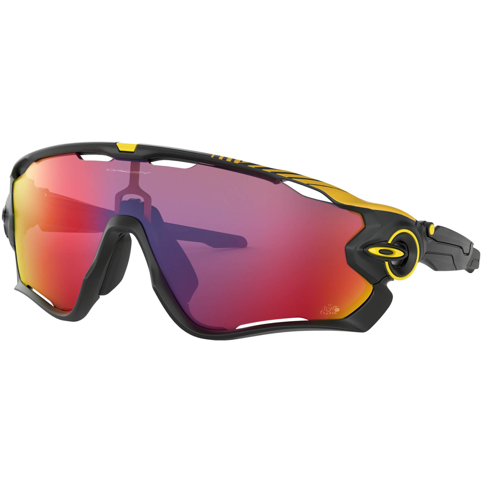 Oakley Jawbreaker Tour De France 2019 Sunglasses - Matte Black/Prizm Road