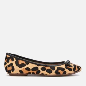 Dune Women's Harps Ballet Flats - Leopard