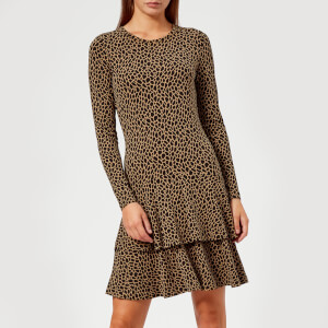 MICHAEL MICHAEL KORS Women's The Flounce Dress - Leo