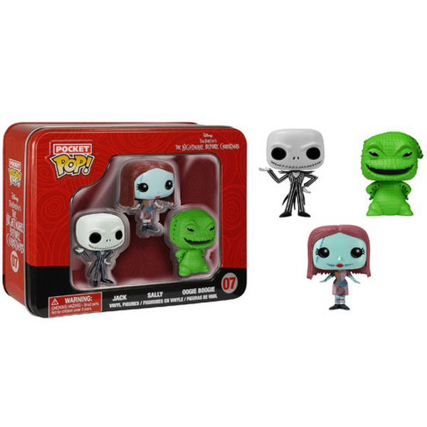 Disney Nightmare Before Christmas Pocket Mini Pop Vinyl