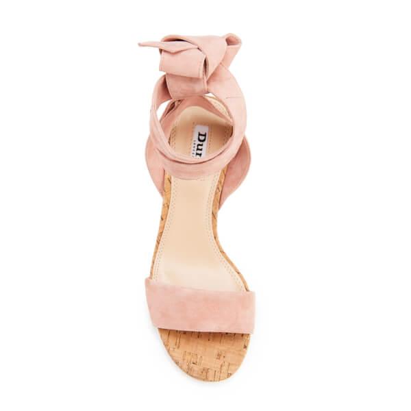 Dune Women's Jonee Suede Block Heel Sandals - Pink: Image 21