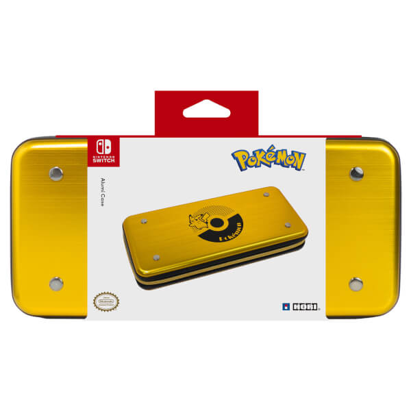 Nintendo Switch Pikachu Hard Pouch Aluminium Nintendo Official UK Store