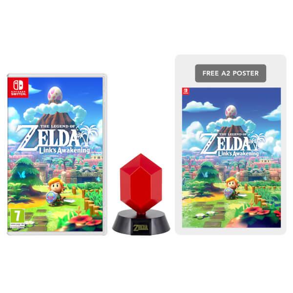 The Legend of Zelda: Link's Awakening + Red Rupee Lamp Pack: Image 01