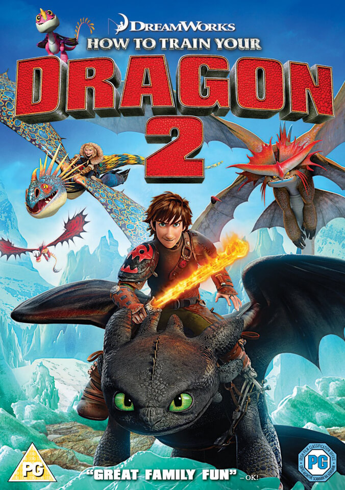 How To Train Your Dragon 2 DVD Zavvi