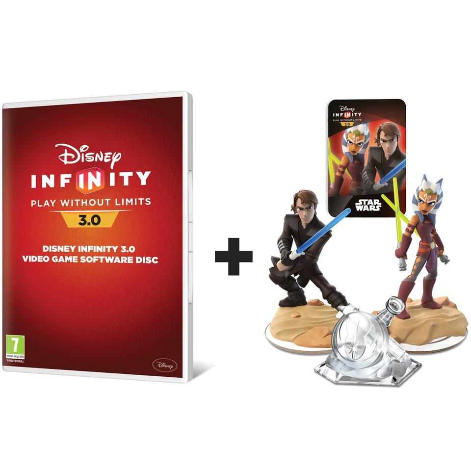 Disney Infinity 30 Video Disc With Twilight Of The Republic Play Set Xbox One Zavvi