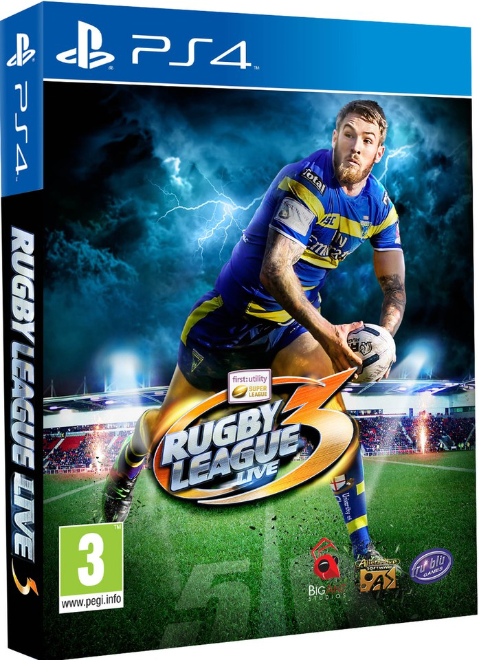 Rugby League Live 3 Ps4 Zavvi