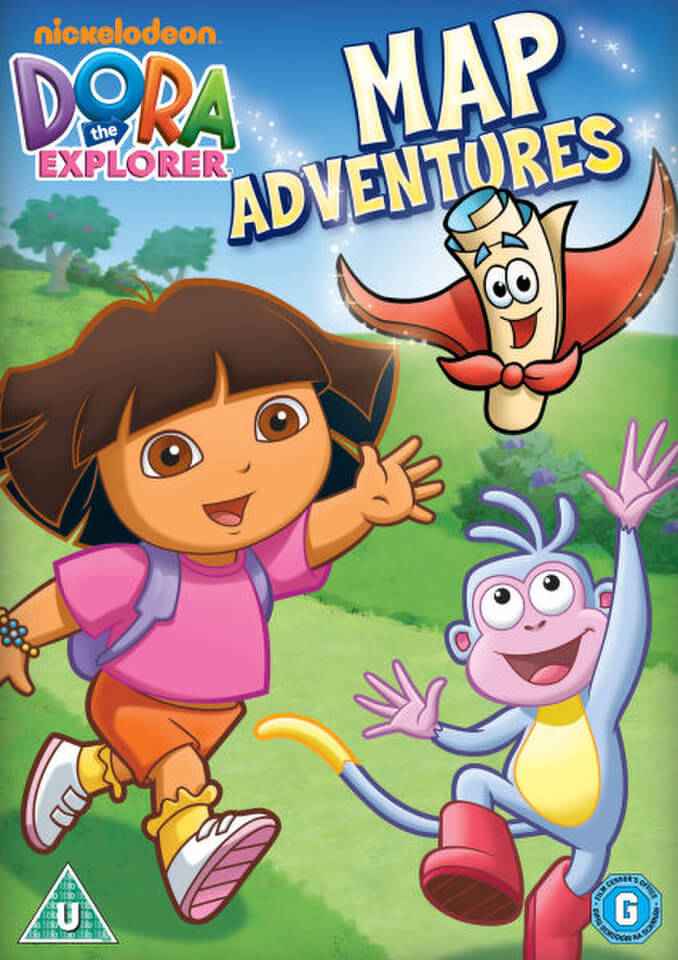 Dora The Explorer Dora S Map Adventure Dvd Zavvi Uk