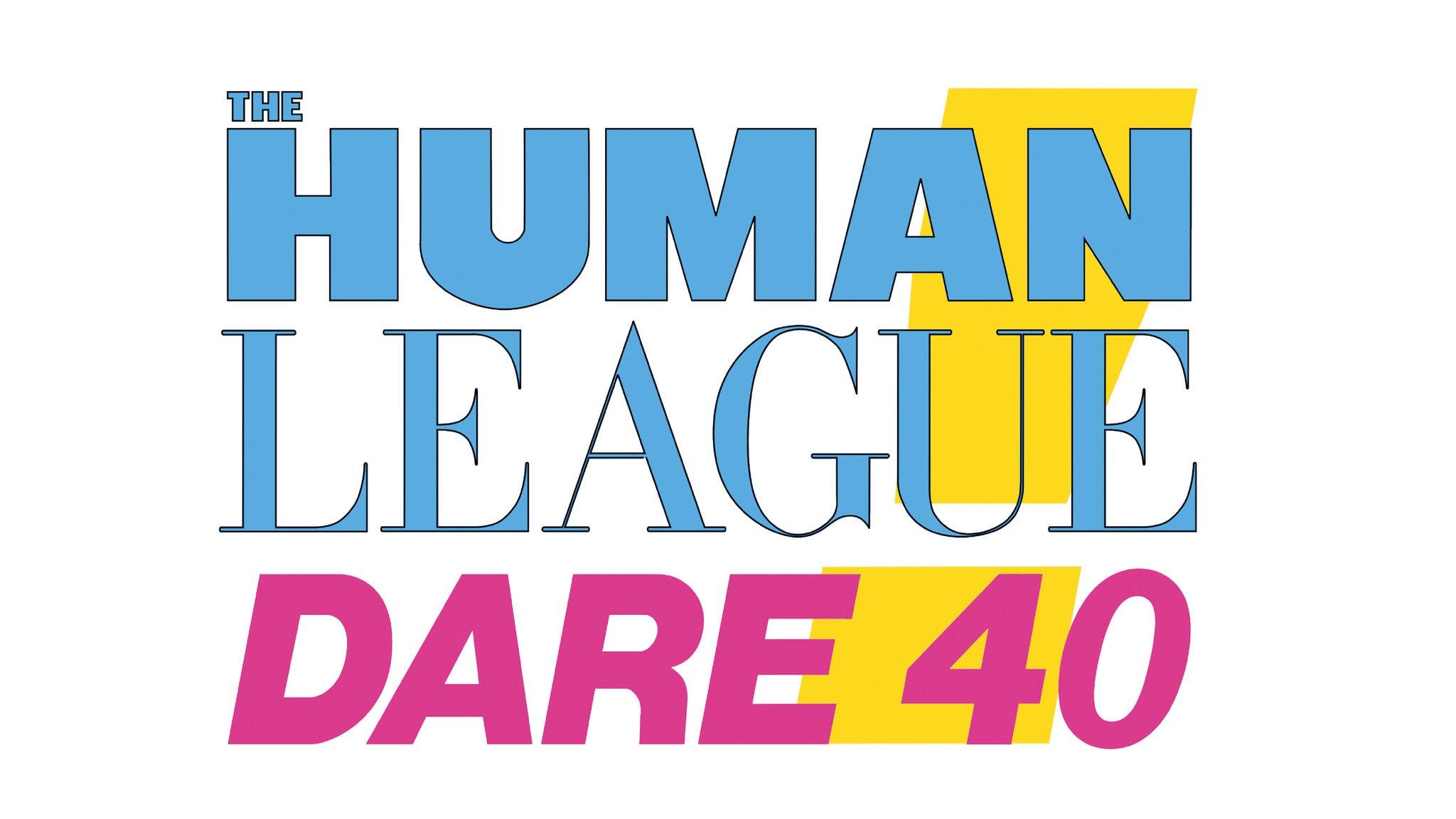 The Human League - Dare 40 thumbnail