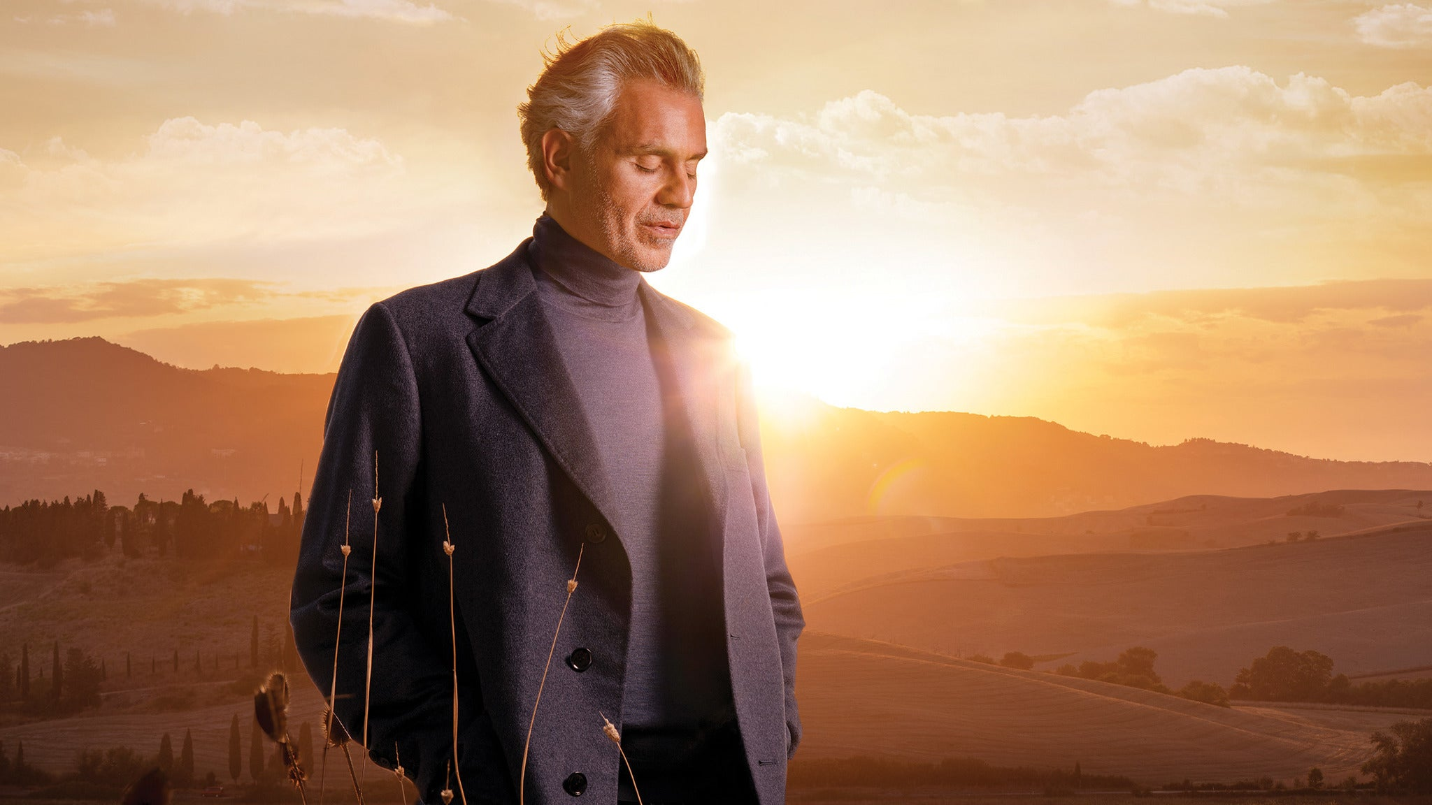 Andrea Bocelli presale password for early tickets in Charlotte