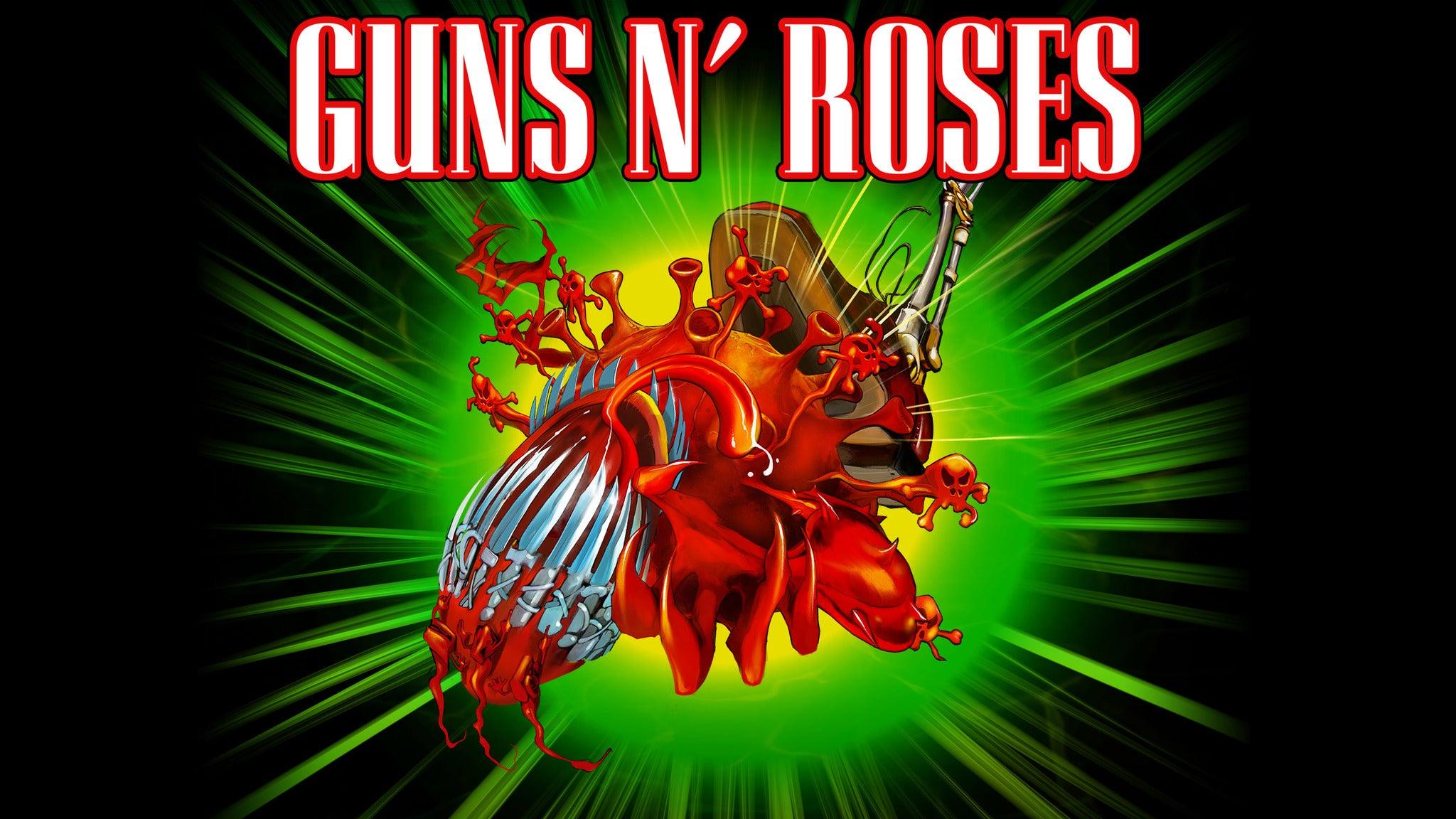 Guns N' Roses 2021 Tour pre-sale password
