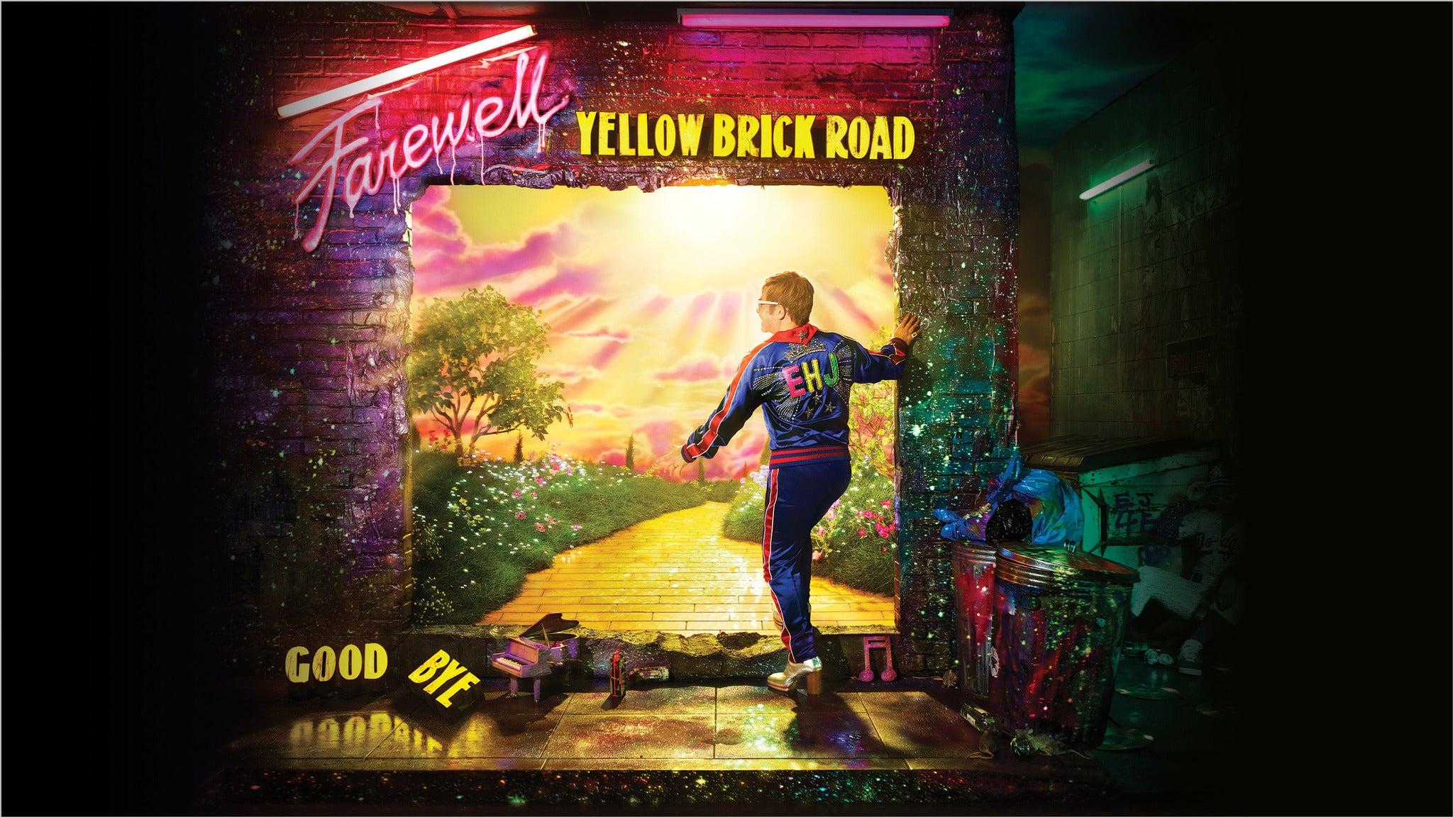 Elton John: Farewell Yellow Brick Road The Final Tour presale password for early tickets in San Antonio