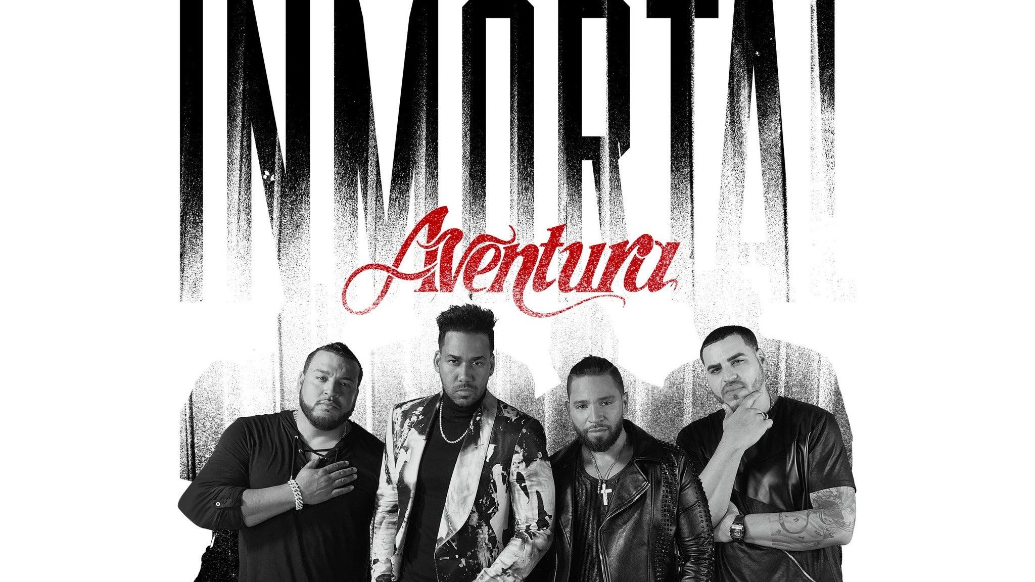 presale code for Aventura - Inmortal Tour tickets in Los Angeles - CA (Dodger Stadium)