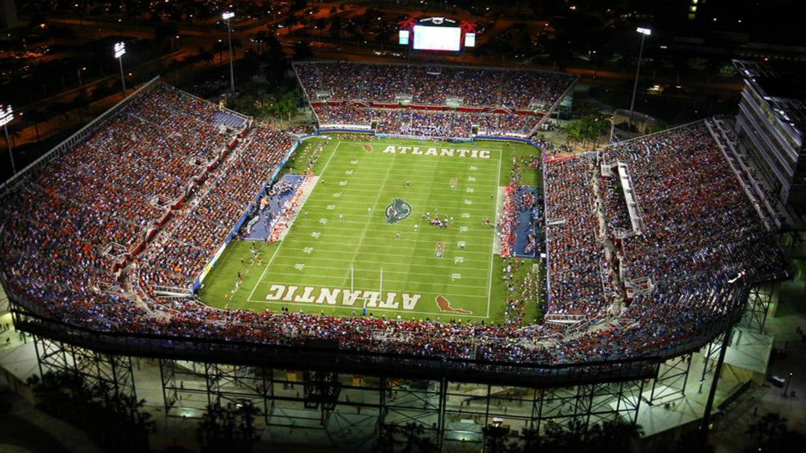 Tickets | Florida Atlantic University Owls Football vs. UNC Charlotte 49ers Football - Boca Raton, FL at Ticketmaster