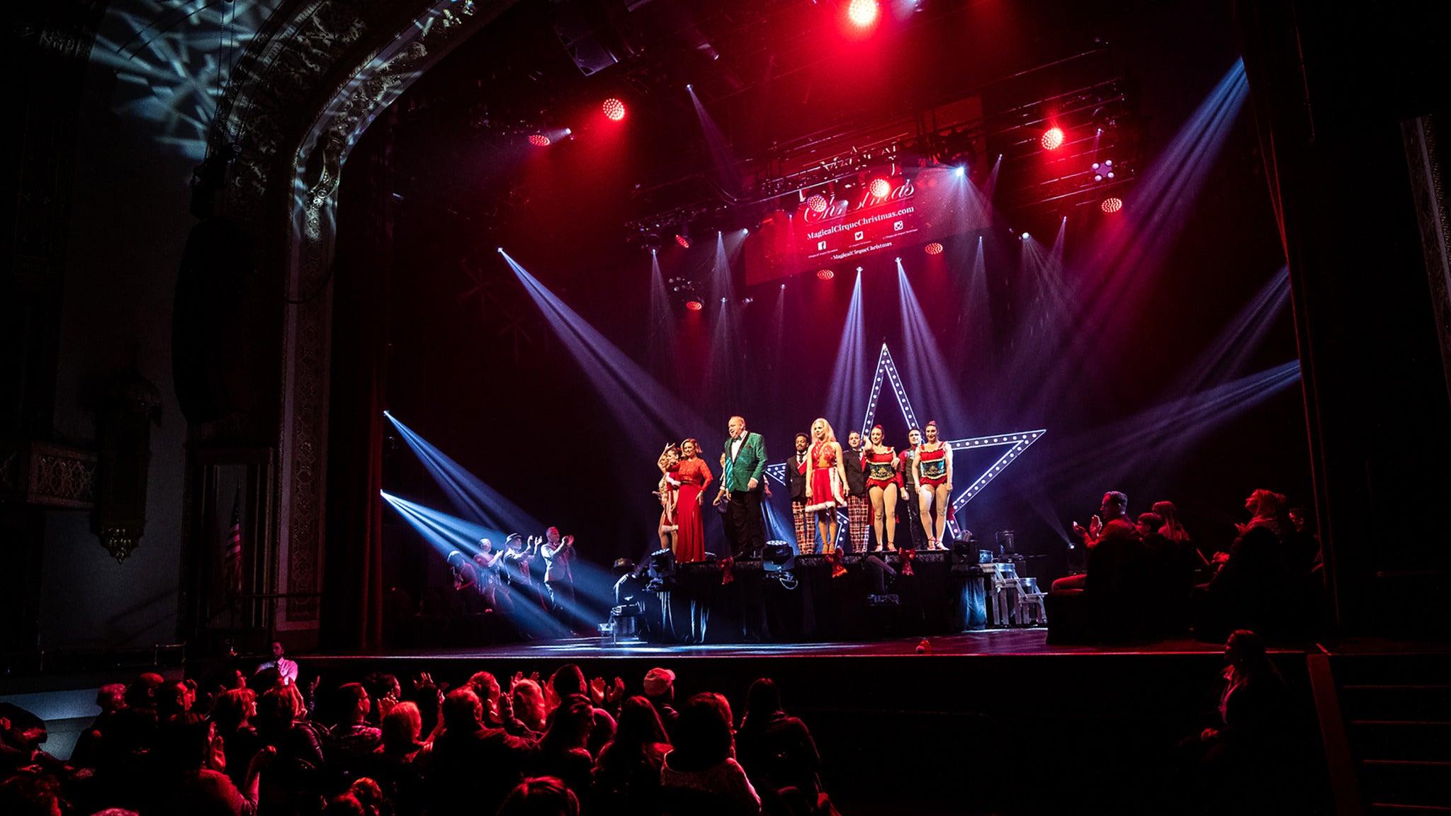 A Magical Cirque Christmas (Touring) presale code for show tickets in Asheville, NC (Harrah's Cherokee Center - Asheville)