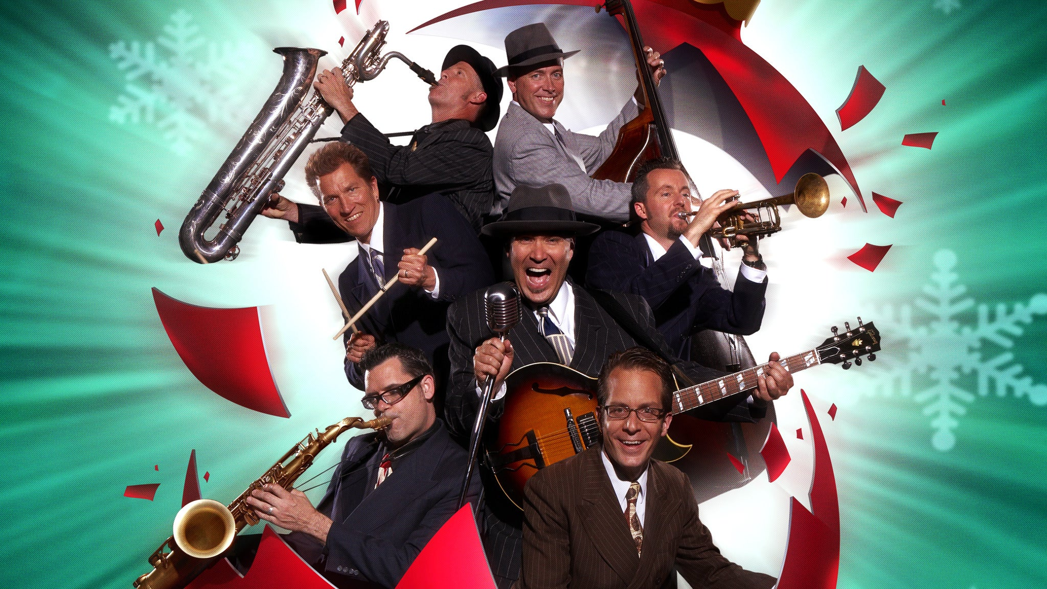 Big Bad Voodoo Daddy pre-sale code for early tickets in Burnsville