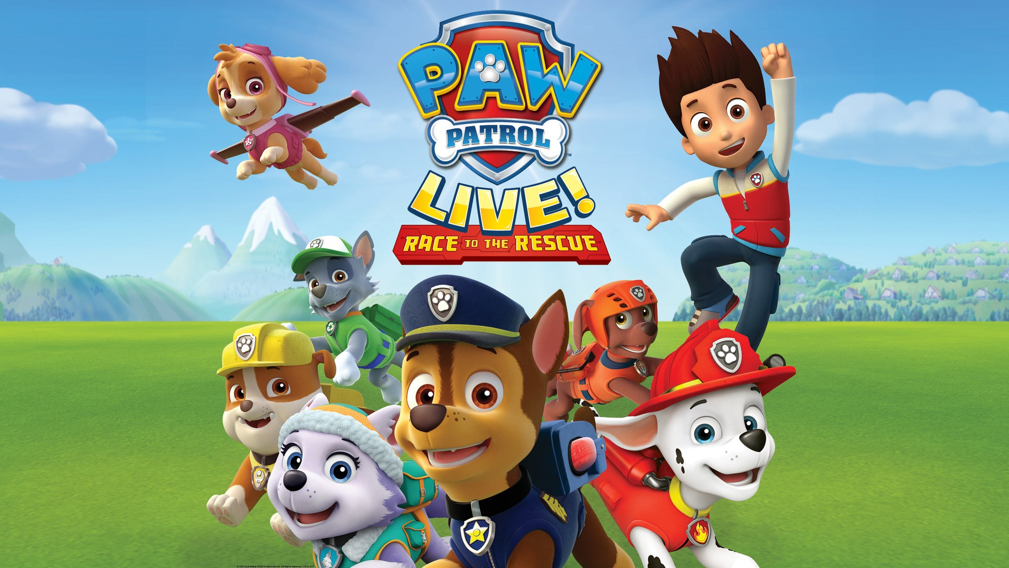 presale password for PAW Patrol Live!: Race to the Rescue tickets in Reading - PA (The Theater at Santander Arena)
