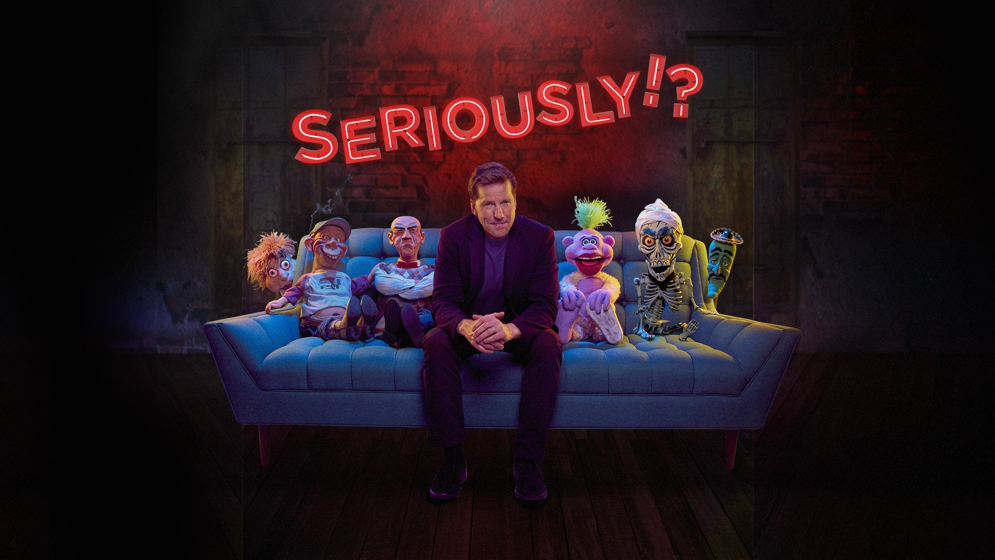 Jeff Dunham: Seriously pre-sale password for early tickets in Rio Rancho