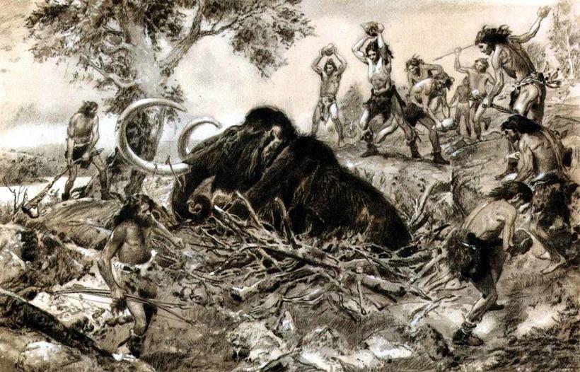 Сколько лет назад вымерли мамонты