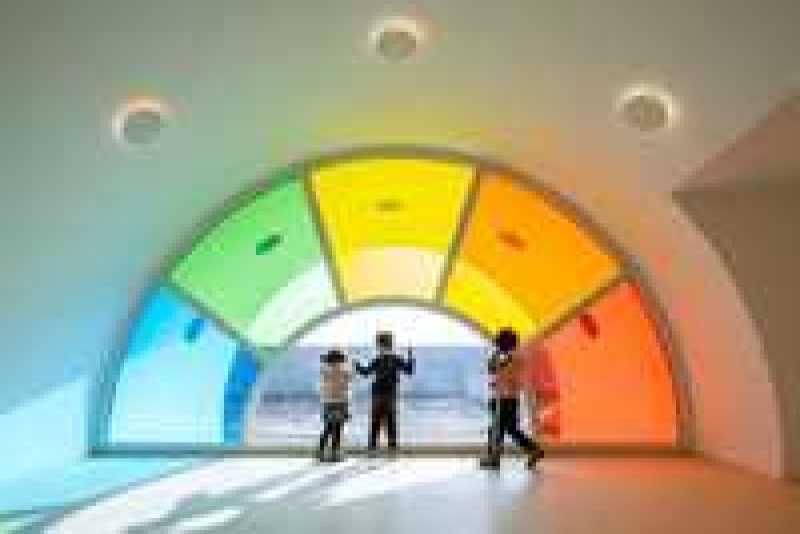 Как выглядит потрясающий современный детский сад в Китае