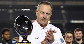 Image result for Report details pattern of misconduct inside Michigan State football, basketball