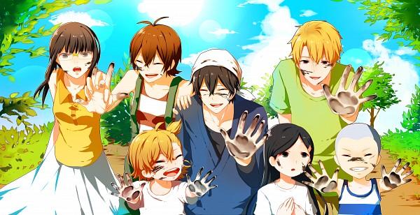 Tags: Anime, Pixiv Id 3703408, Barakamon, Kotoishi Naru, Yamamura Miwa, Kubota Hina, Arai Tamako