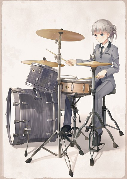 Drum Musical Instrument Zerochan Anime Image Board