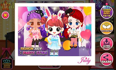 Fashion judy  party style for Android free download at Apk Here         fashion judy  party style